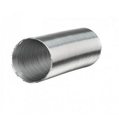 Гофрированная труба  алюминиевая 125 (3 м)