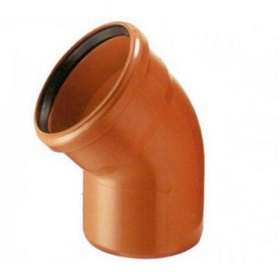Отвод канализационный 110 - 45  градусов