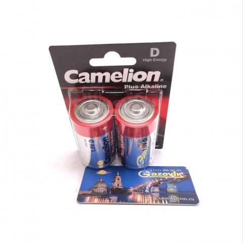 Батарейка Camelion LR20 алкалиновая