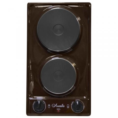 Плита электрическая настольная Лысьва ЭПБ 22 - коричневая