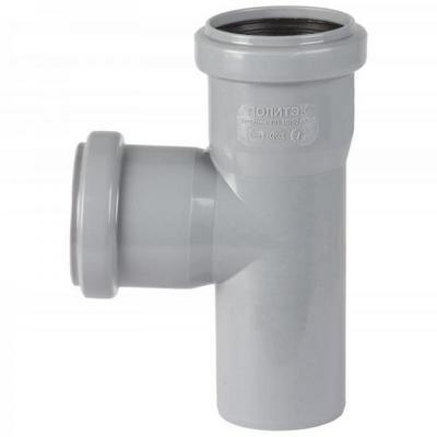Тройник канализационный 50 - 90 градусов