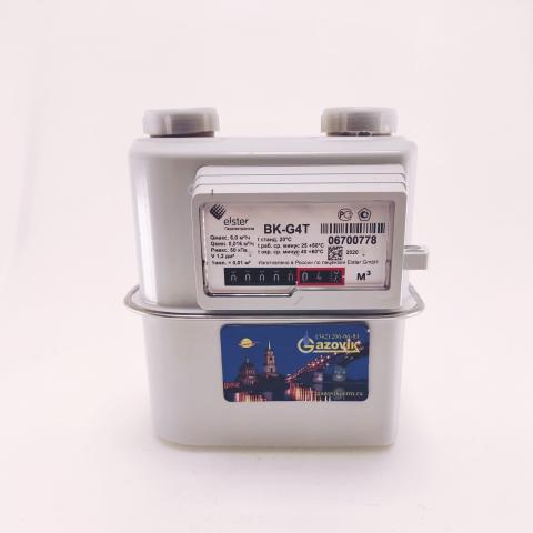 Счетчик газа ВК - G4Т (левый) - термокоррекция