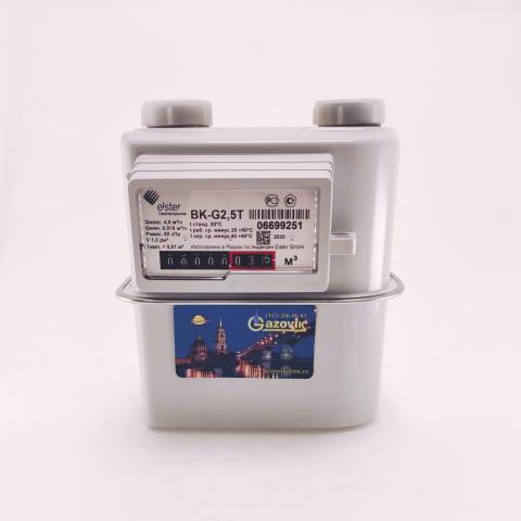 Счетчик газа ВК - G2,5Т (левый) - термокоррекция