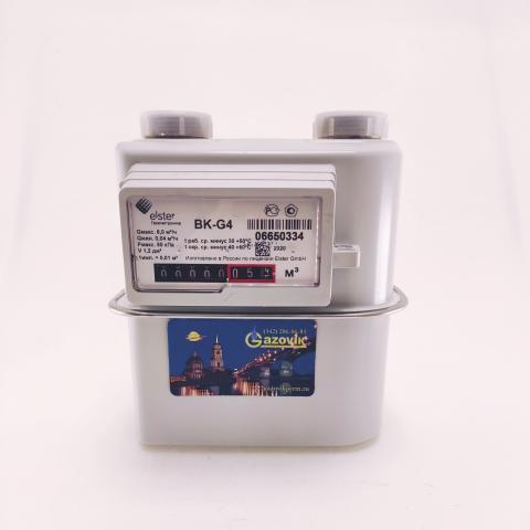 Счетчик газа ВК - G4 (левый)