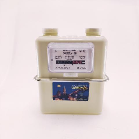 Счетчик газа ОМЕГА - G4  (левый) - термокоррекция