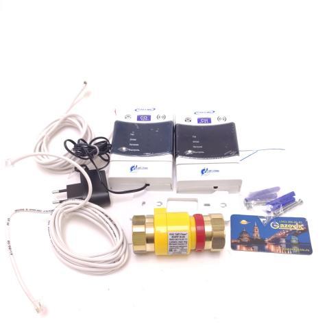 Сигнализатор загазованности САКЗ-МК-2-1А DN 25 (2 газа)