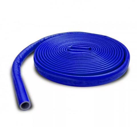 Теплоизоляция для труб 18/4 мм d/ 15 (бухта 10м) Super Protec СИНИЙ