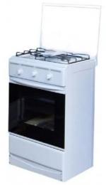 Плита газовая Лада ПГ-2 с духовкой 12120 - 04 с крышкой, белая