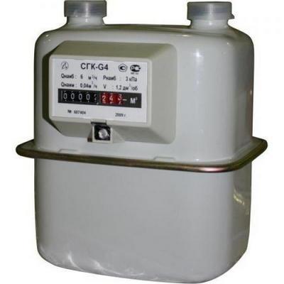 Счетчик газа СГК G4 (Воронеж) М30х2 левый