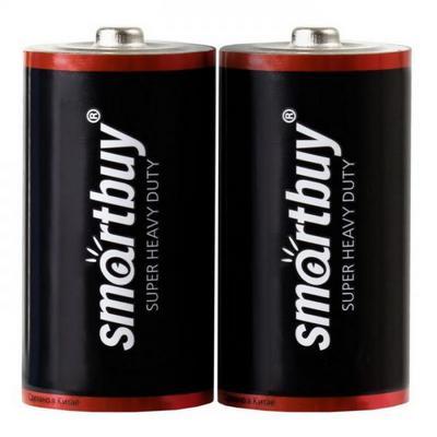 Батарейка солевая Smartbuy R20/2S (24/288)