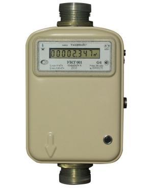 Счетчик газа бытовой УБСГ 001 G - 10