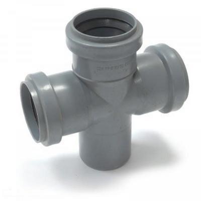Крестовина канализационная 110 - 90 градусов